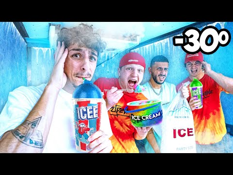 Last to Get Brain Freeze WINS - Challenge (ft. Unspeakable)