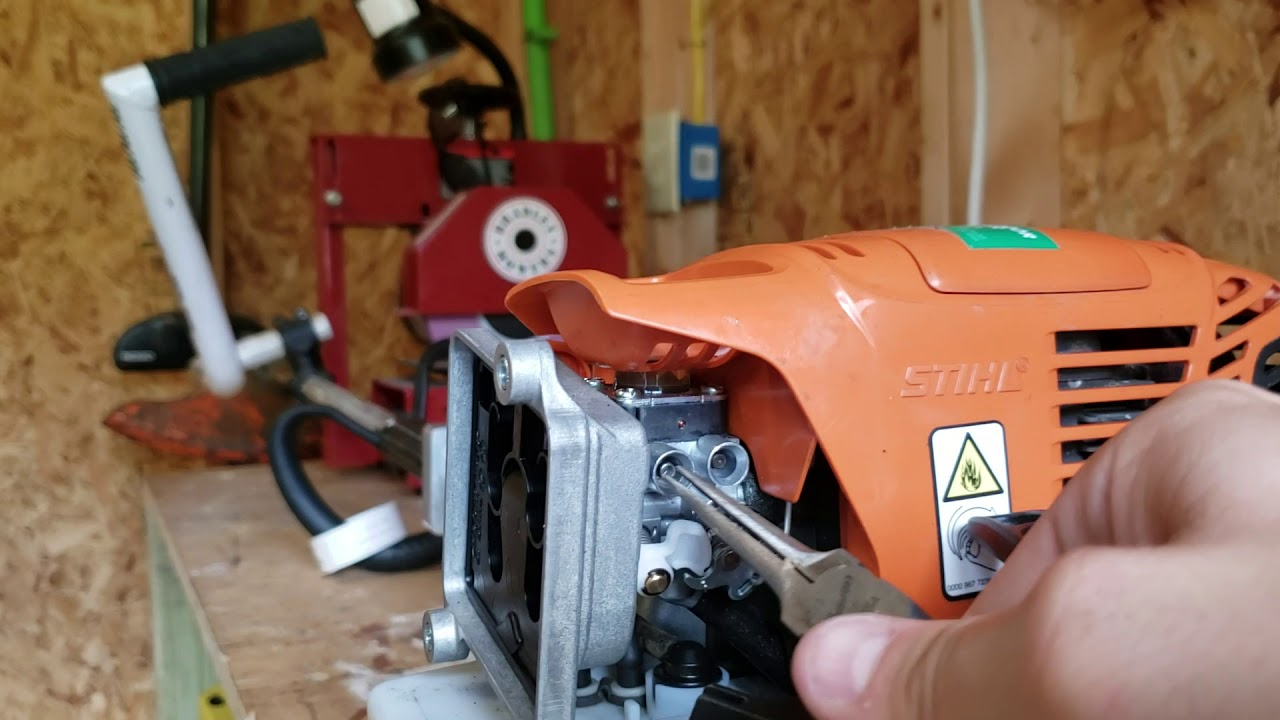 DIY make your own Stihl Carb Adjustment Tool in a pinch   Lawn Care