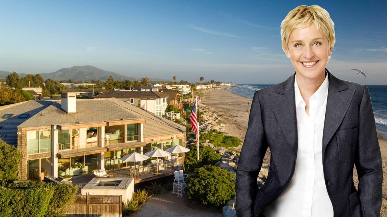 Ellen Degeneres House In Santa Barbara 2018 18 Million