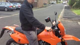 125cc Enduro S Motorbike 2015