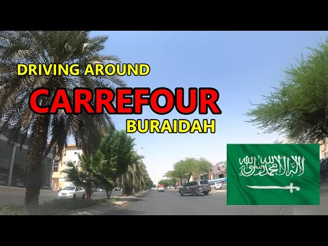 ROADS GOING TO CARREFOUR BURAIDAH (4K)