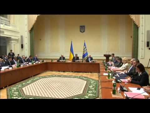 Self-Rule for Eastern Ukraine: President Poroshenko submits draft law on Donbas