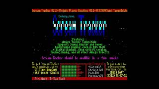 Scream Tracker Player - Russian Group [#zx spectrum AY Music Demo]
