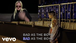Tove Lo - Bad as the Boys (Lyric Video) ft. ALMA