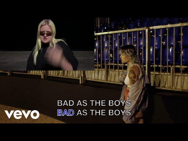 Tove Lo - Bad as the Boys (Lyric Video) ft. ALMA