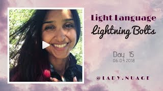 Light Language - Lady Nuage - Lightning Bolt #15