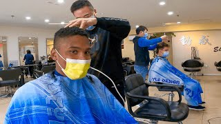 Black & White Guys Shock Chinese Hair Salon with Perfect Mandarin