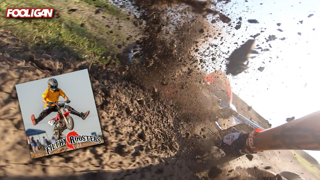 Pit Bike MX Championship   Wrecked HARD on the 50