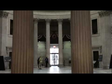 New York, New York - Federal Hall National Memorial HD (2012)