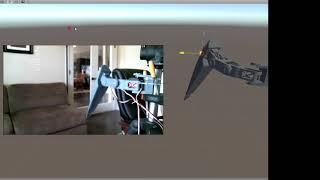 EZ Robot Unity hex test