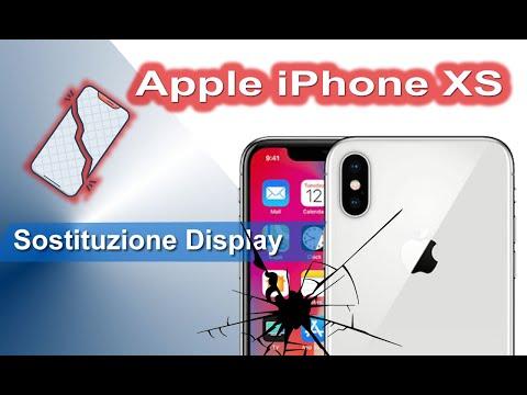 Apple iPhone XS Sostituzione display