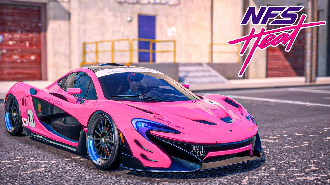 ให้มันเป็นสีชมพู (McLaren P1 Need For Speed Heat)