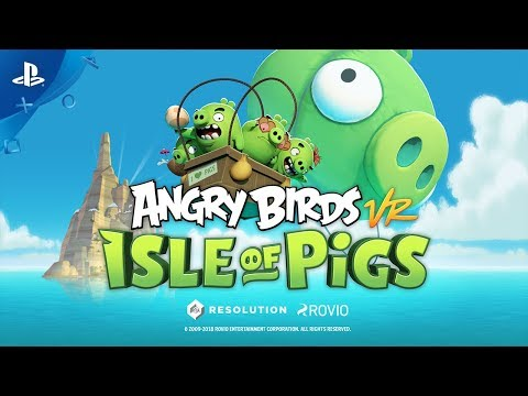 Angry Birds VR: Isle of Pigs Trailer   PSVR