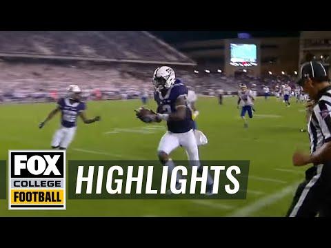 No. 13 TCU wins high-scoring battle over South Dakota State | 2016 College Football Highlights