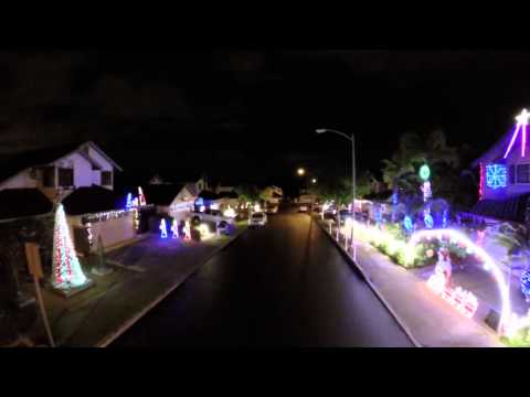 Waikele Christmas Lights 2014