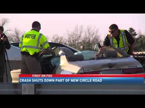 Two Injured in New Circle Road Crash