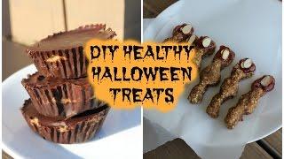 DIY Healthy and Vegan Halloween Treats! Thumbnail