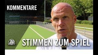 Die Stimmen zum Spiel   VfB Homberg - SF Hamborn 07 (Testspiel)