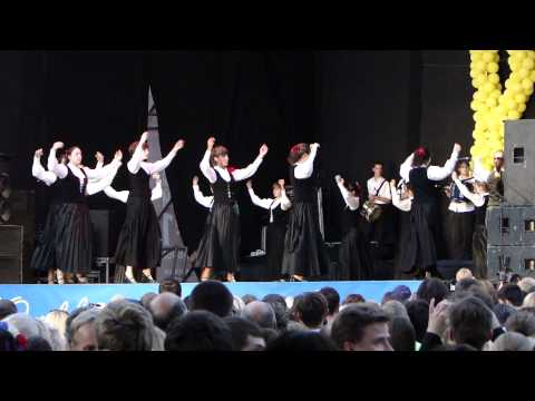 Etnovyr 2011 Folk Fest in Lviv, Ukraine: Arrola Dantza Taldea from Basque Country