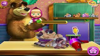 Маша и медведь - Собираем игрушки (Развивающая игра)
