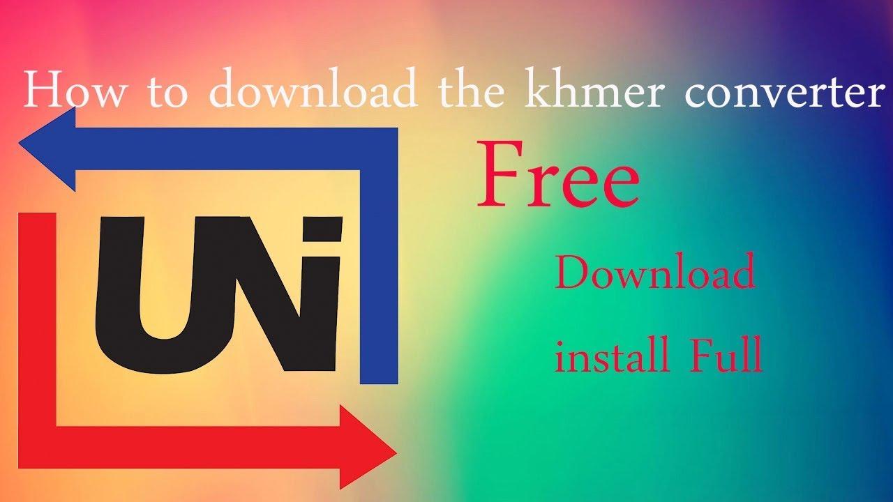 Khmer Converter Free Download - Convert Khmer Unicode to Khmer Limon -  Converter font khmer