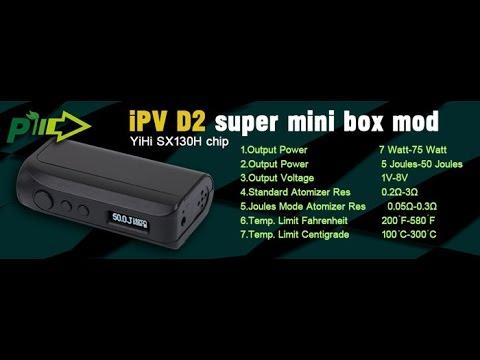 Authentic iPV D2 Box Mod Review (Best Prices!)