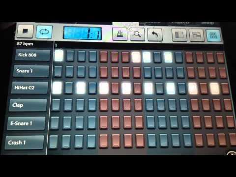 How To Make A Simple Rap/hip Hop Drum Pattern On Fl Studio Mobile Hd( Read Description)