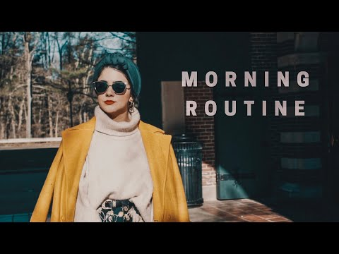 Winter morning routine روتيني الصباحي (English subtitles)