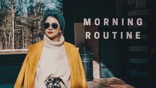 Winter morning routine روتيني الصباحي - FOREO UFO