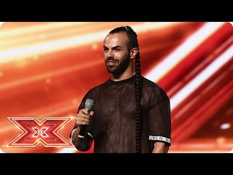 Slavko gives a hair-raising performance | Boot Camp | The X Factor 2017