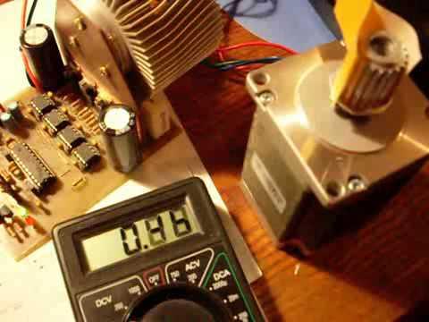 y252ksek g252231l252 bipolar step motor s252r252c252 l297 ir2104 irfz44