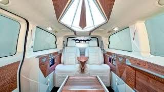 Luxury Van Conversion V class -- офис на колесах от KLASSEN VIP Car Design Technology(, 2013-01-19T19:42:54.000Z)