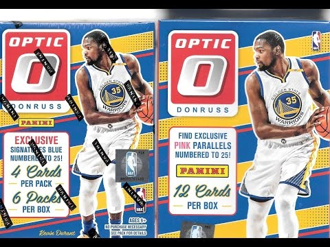 2016 17 Panini Donruss Optic Basketball Retail Break Blaster & Hanger Box / Checkerboard