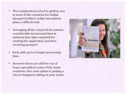 Singapore eVisa for Indian Passport Holders