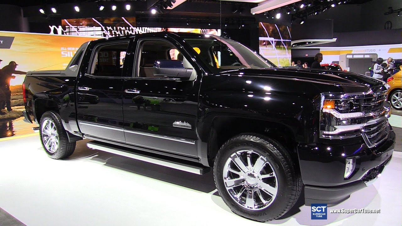 2017 Chevrolet Silverado High Country - Exterior and ...