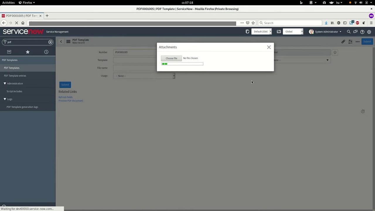 PDF Generator Application for ServiceNow - ESM Alliance
