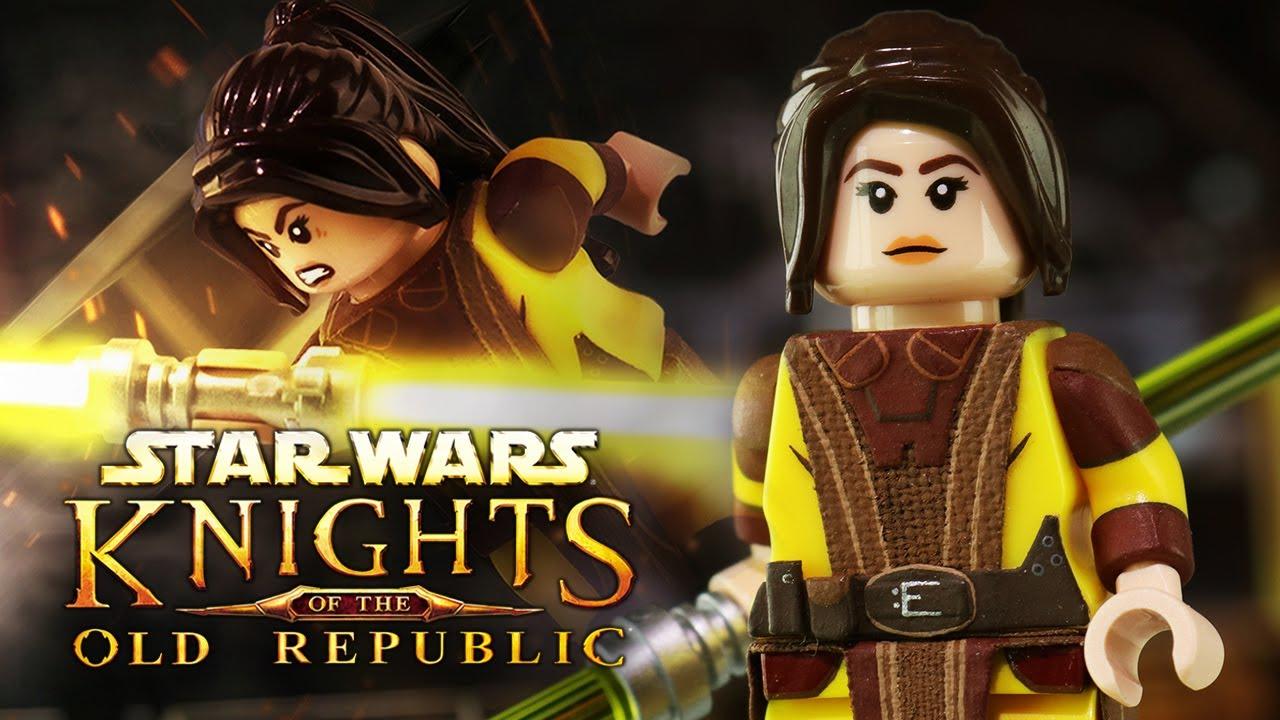 LEGO Star Wars KOTOR Bastila Shan Custom Minifigure