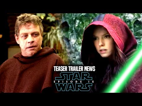 Star Wars Episode 9 Teaser Trailer! Bad News & Good News