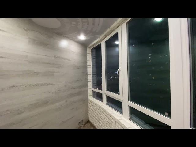 Смотреть видео Балкон под ключ @ Бадаева 14