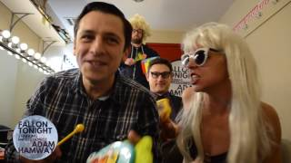 Fallon Tonight - Lady Gaga Bad Romance - Classroom Instruments