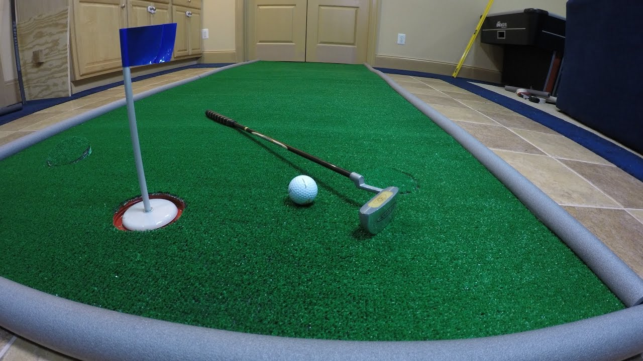 How to Make a Portable Golf Putting Green for Less Than $1 a ...