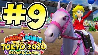 Mario & Sonic Tokyo 2020 Olympic Games !! Walkthrough # 9 ᴴᴰ