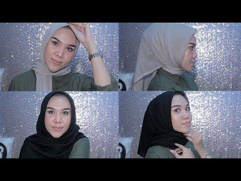 Hijab Simple Ala Laudya Chintya Bella Bisabo Channel