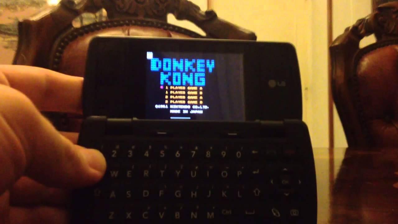 NES emulator on old lg phone (KT-610)