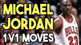 1 on 1 Basketball Moves Michael Jordan vs Shaq Basketball Moves