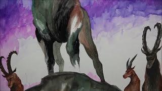 [Watercolor] Ibex
