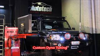 toyota landcruiser 79 series turbo diesel uniq install custom dyno tune