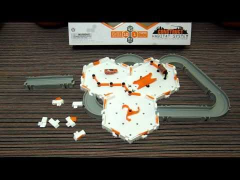 HexBug Nano Construct Habitat Set - Hands on Review - with 3 x new Construct Hex Cell bases
