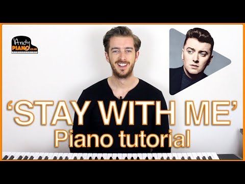 Sam Smith - Stay With Me Piano Lesson Tutorial - 3 CHORDS SUPER EASY !