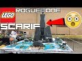 EPIC LEGO STAR WARS BATTLE OF SCARIF MOC! Rogue One Scarif MOC By KrisProductions! CITADEL TOWER!